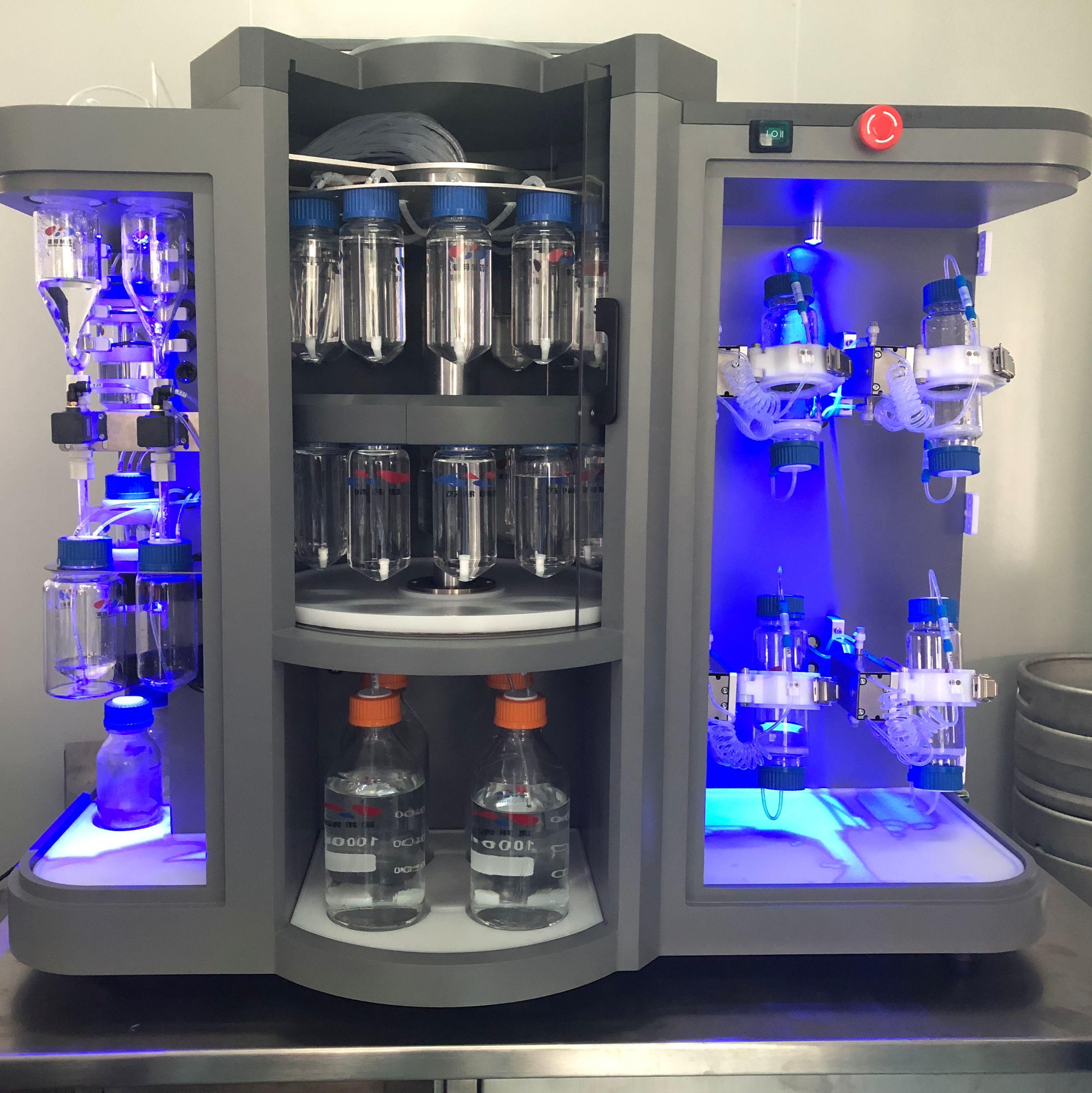多通道全自动多肽合成仪