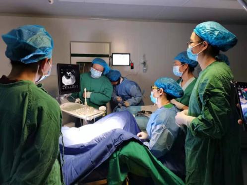 广西壮族自治区南溪山医院第一例试管婴儿患者成功进行胚胎移植