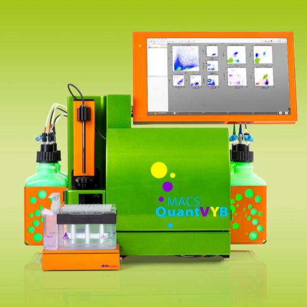 MACSQuant VYB流式细胞仪——标配561nm黄激光的自动化流式