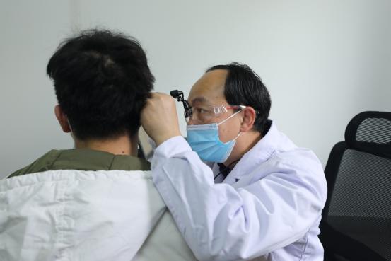 象山区 2021 年春季征兵体检在广西壮族自治区南溪山医院顺利完成