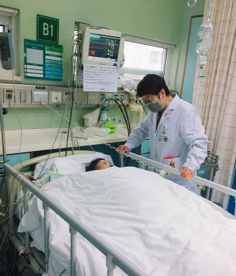 一场小「感冒」 差点「要了命」,46 岁的她从阜阳远赴武汉亚洲心脏病医院得救