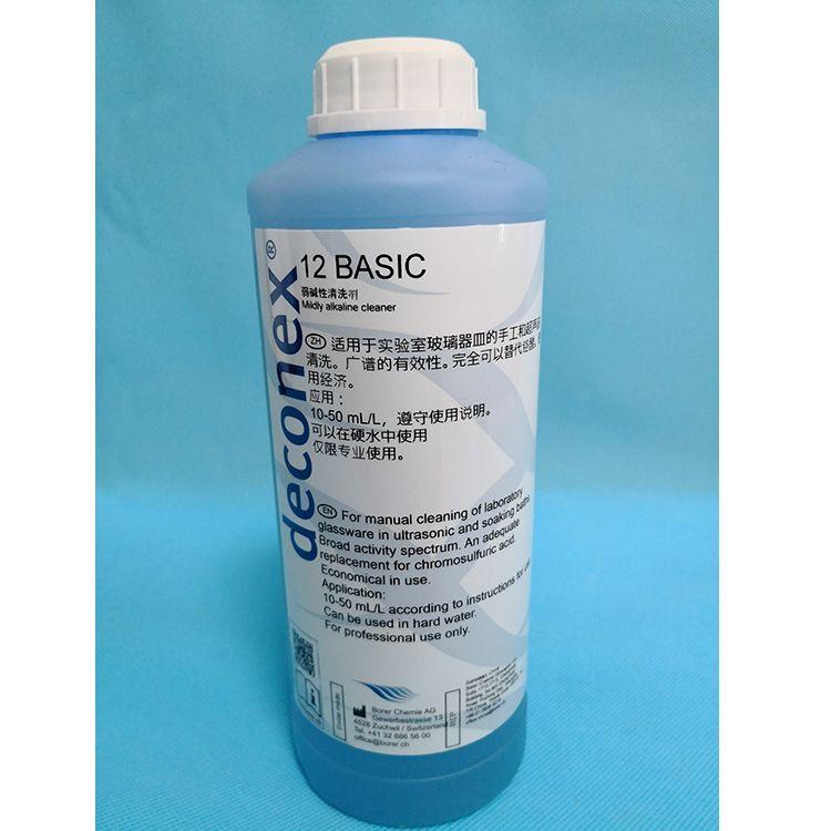 Borer deconex 12 BASIC手工/超声碱性浓缩清洗液500325.00-F10W