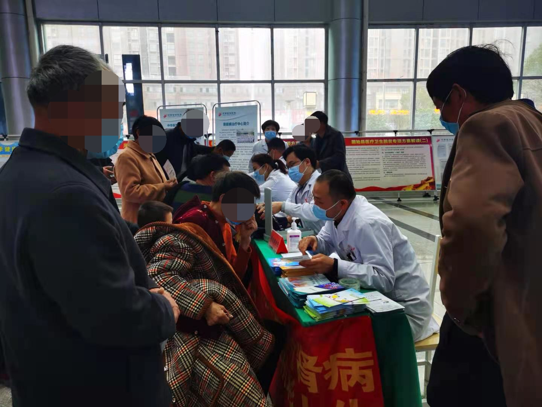 积极面对肾病,共享精彩人生——河南信合医院开展「肾脏病日」健康义诊科普活动