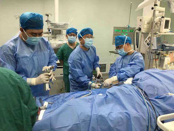 西安交通大学第二附属医院完成西北首例关节镜下 All-Inside 全内前交叉韧带重建术