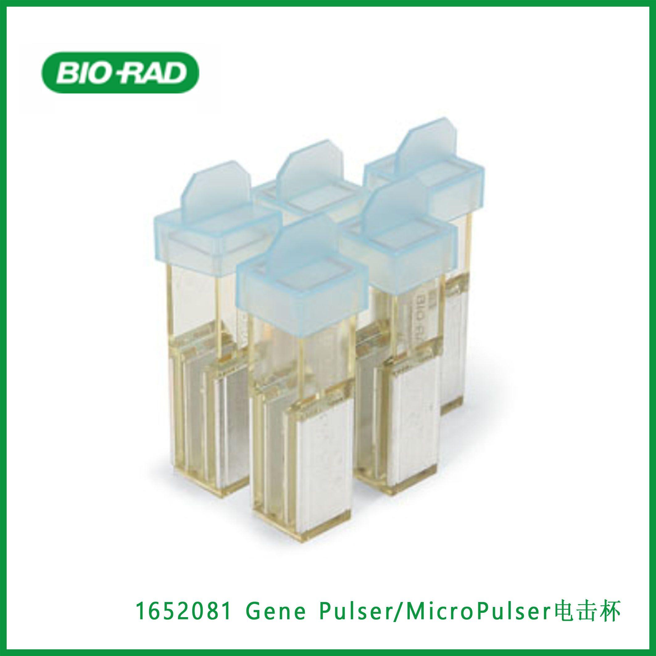 伯乐Bio-Rad1652081Gene Pulser/MicroPulser Electroporation Cuvettes, 0.4 cm gap,Gene Pulser/MicroPulser电击杯,现货