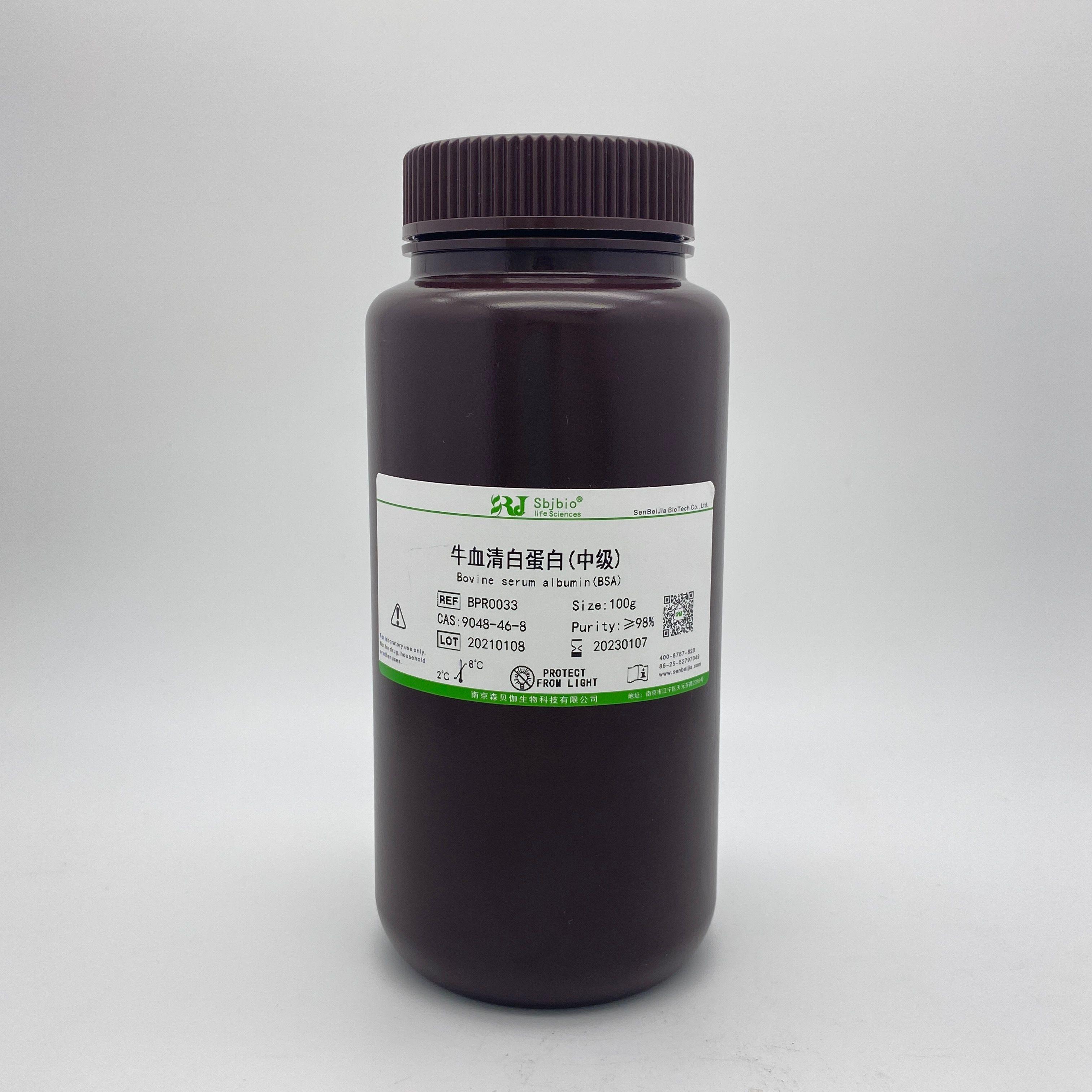 牛血清白蛋白(中级)