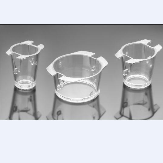 24孔板用通透性嵌套,透明PET膜8.0um孔径, 灭菌