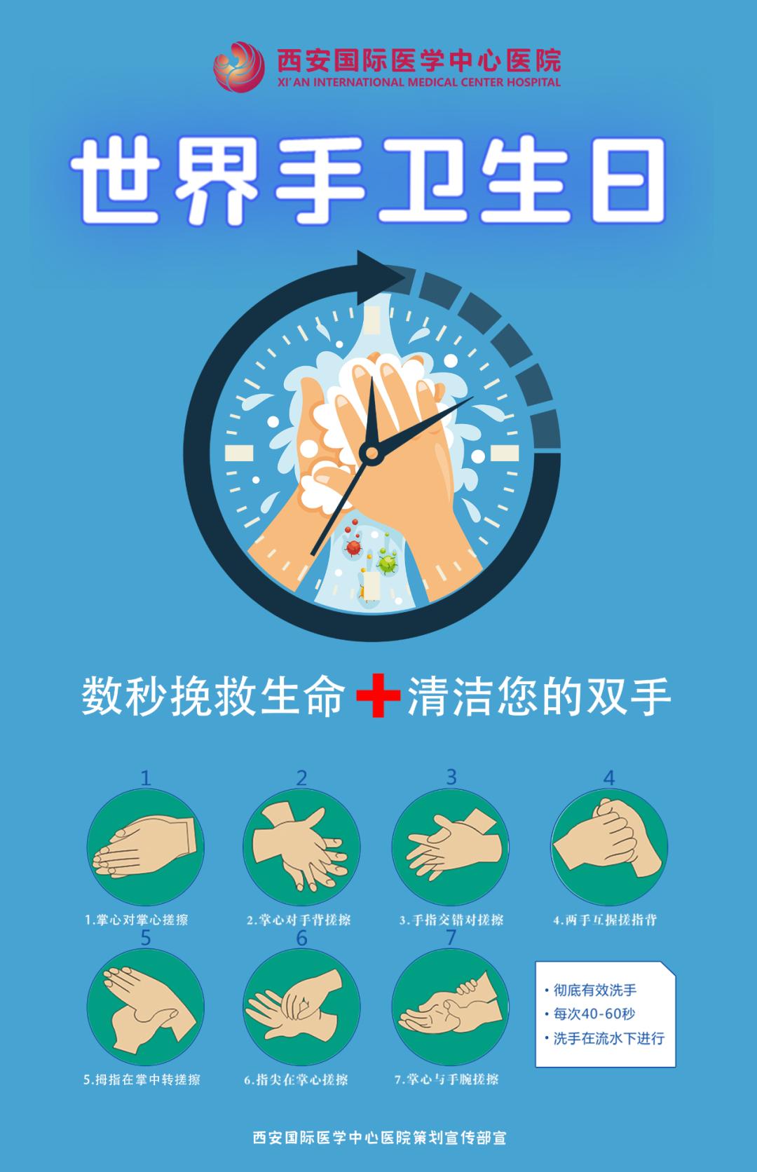 世界手卫生日 「手」护健康