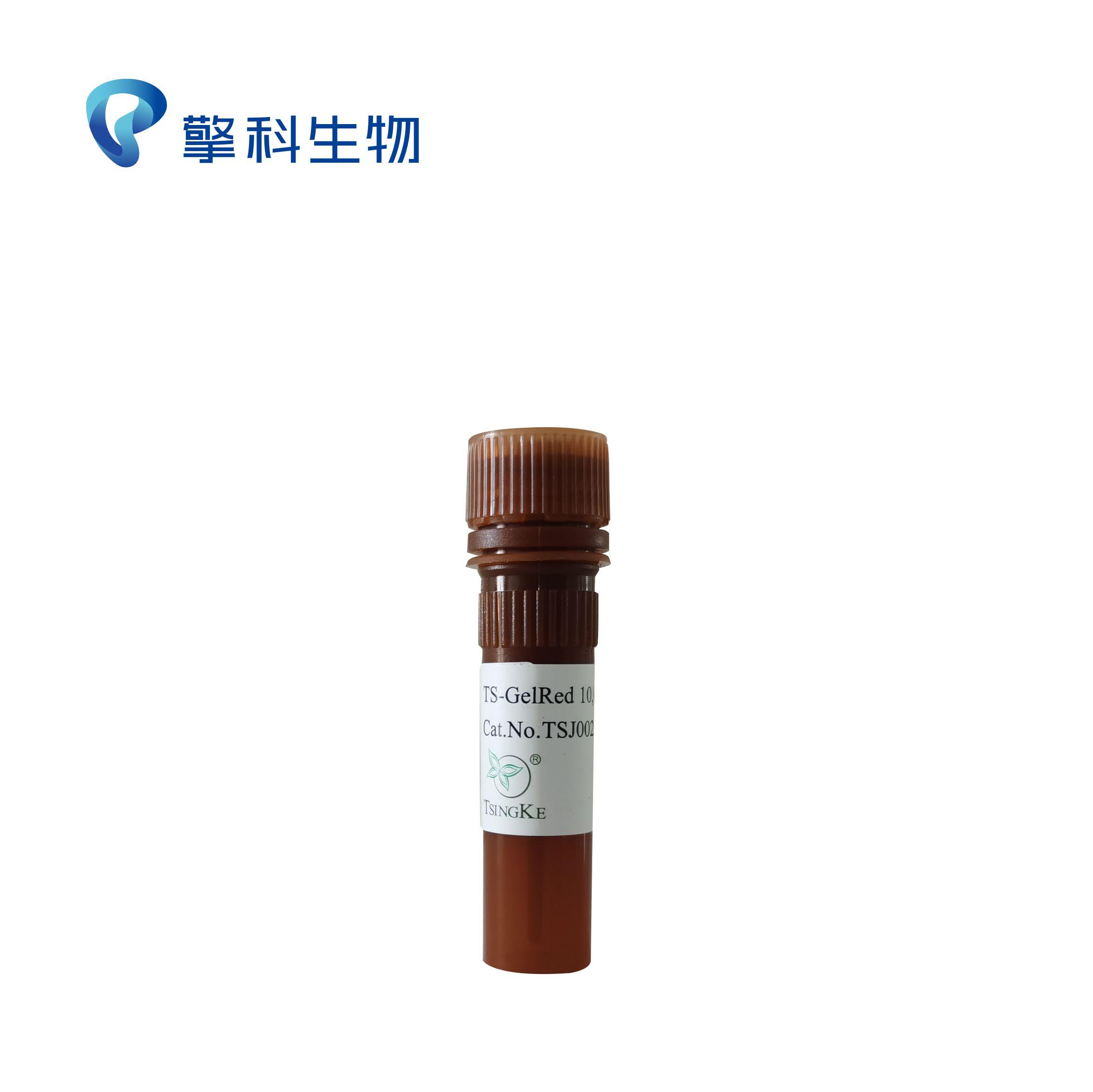 TS-GelRed核酸凝胶染料(10,000×水溶液)/安全无毒,更灵敏核酸染料/核酸电泳系列试剂/擎科生物TSINGKE