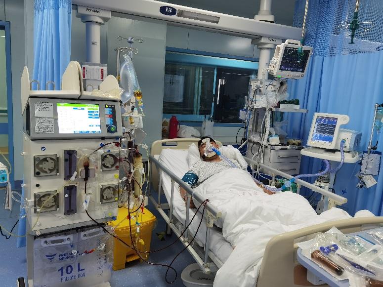 肿瘤患者突发心肌炎 抢救 59 天救回一命