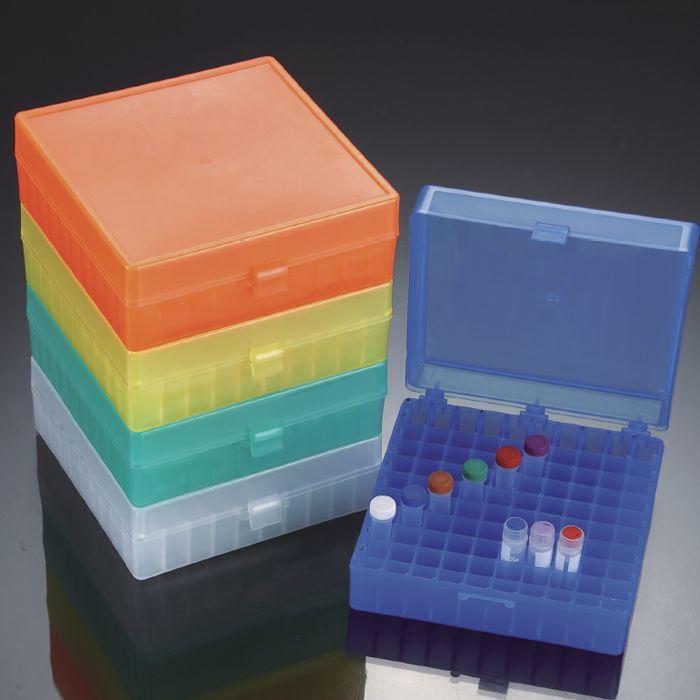 81孔 100孔 PP冰盒 冻存盒