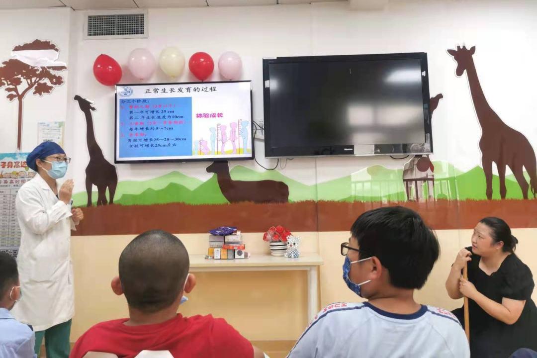 上海市同济医院儿科护理团队开展儿童身高专题科普活动