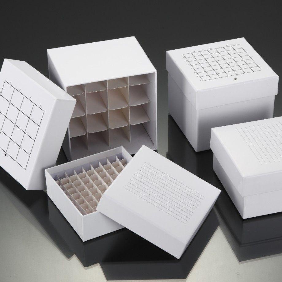 纸质冷冻盒 冰盒 冻存盒
