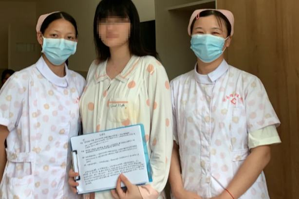 河南信合医院:一封来自 95 后宝妈的手写感谢信