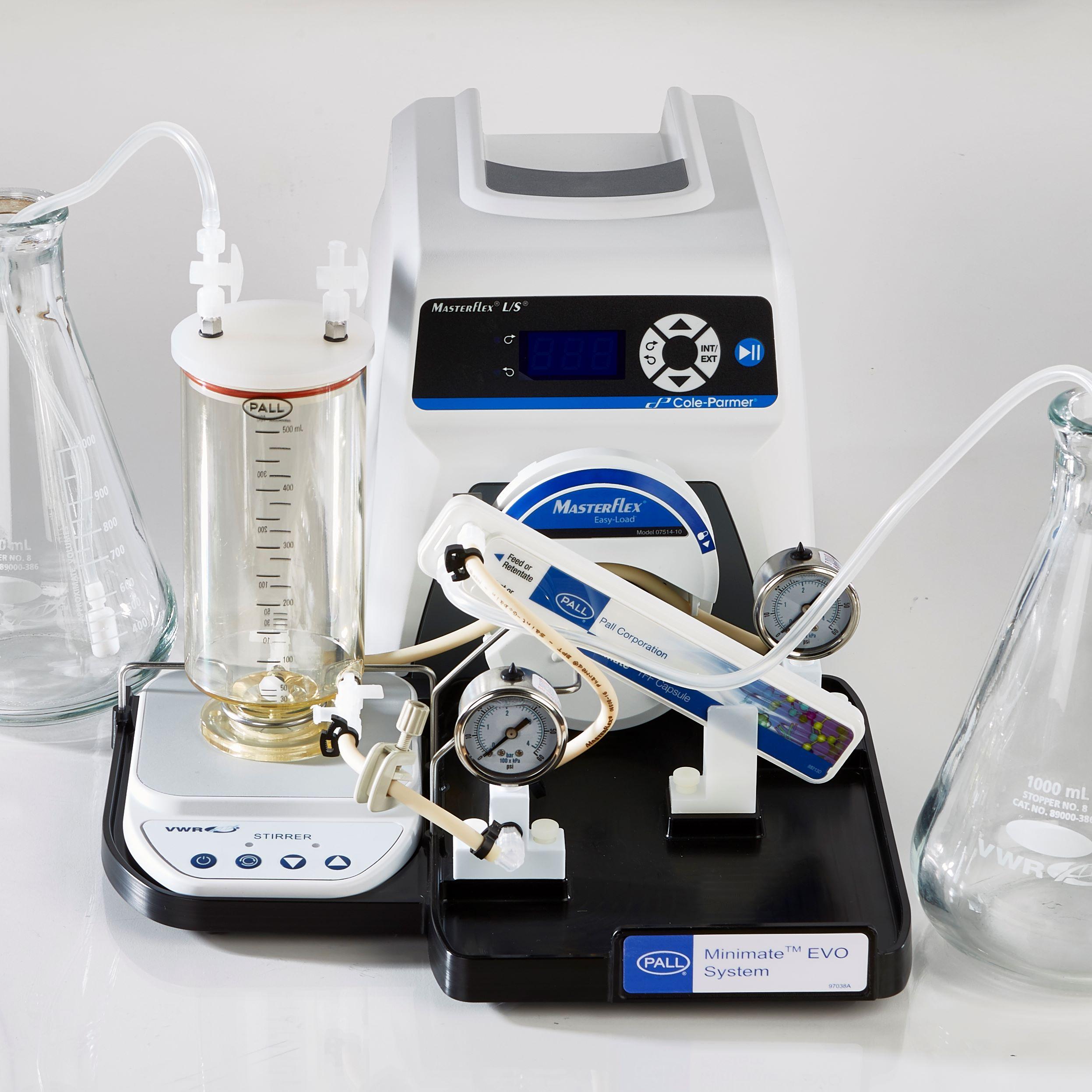Minimate™ EVO实验室切向流超滤系统