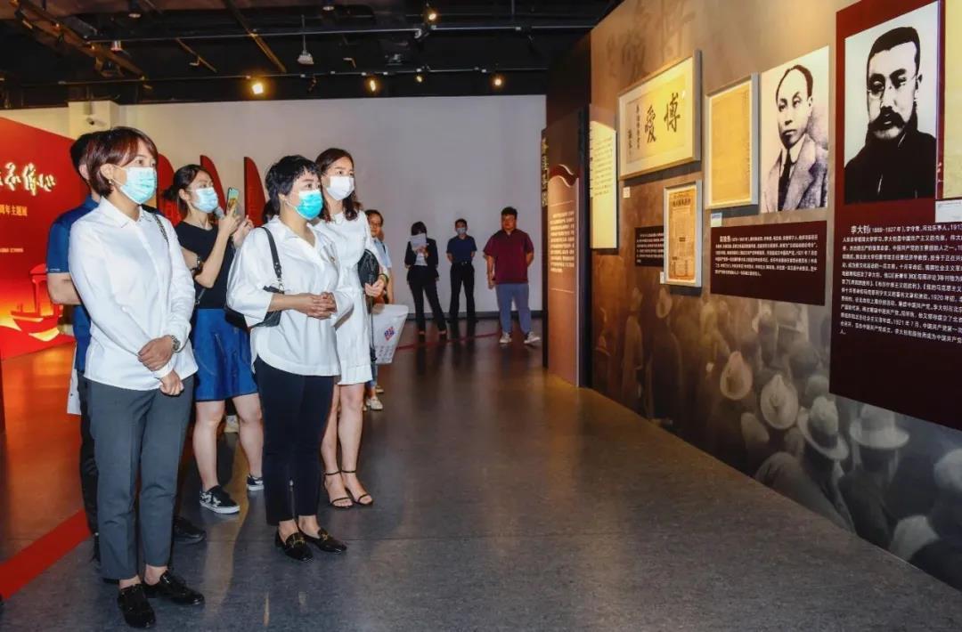 永远跟党走,参观「百年航程 · 赤子侨心——庆祝中国共产党成立 100 周年主题展」