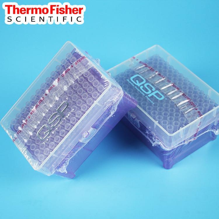 QSP 100-1000ul加长带刻度带滤芯吸头 盒装无菌