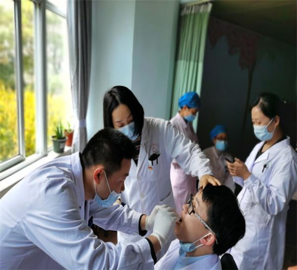 荆门市中医医院开展实操培训,助力疫情防控