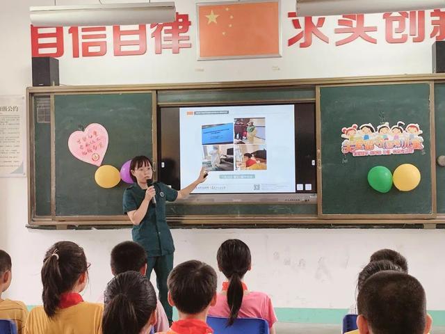 开学第一课|福建国药东南医院援鄂护士走进双亭小学