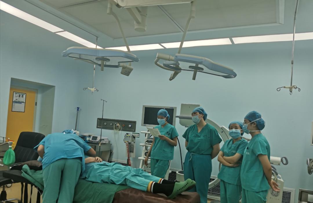 玉田县中医医院手术室专科护士培训进行中