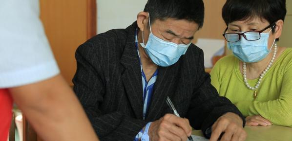 常州这位古稀老人给自己的寿礼是遗体捐献书