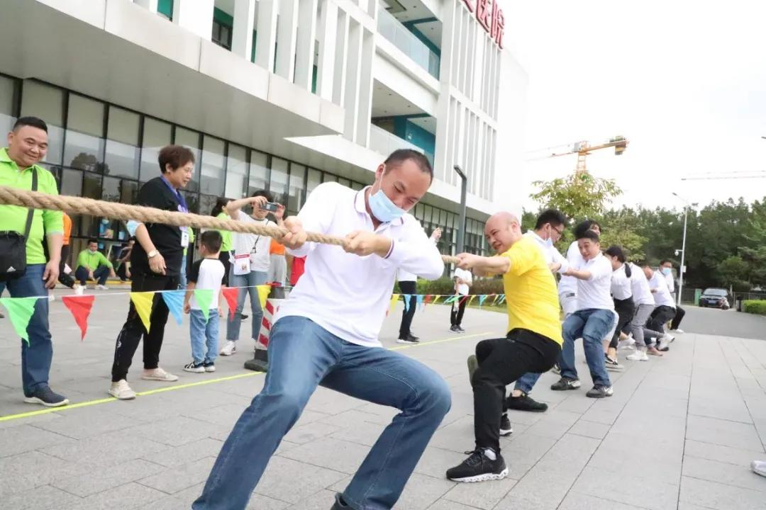 广州市东升医院举办第三十四届「东升杯」消防运动会