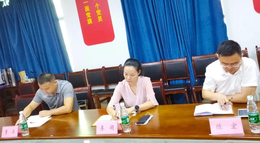 鼎城区委常委、组织部部长李娟一行来常德市第四人民医院调研