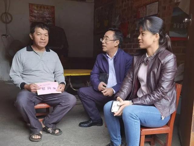 广西中医药大学第一附属医院开展扶贫日活动