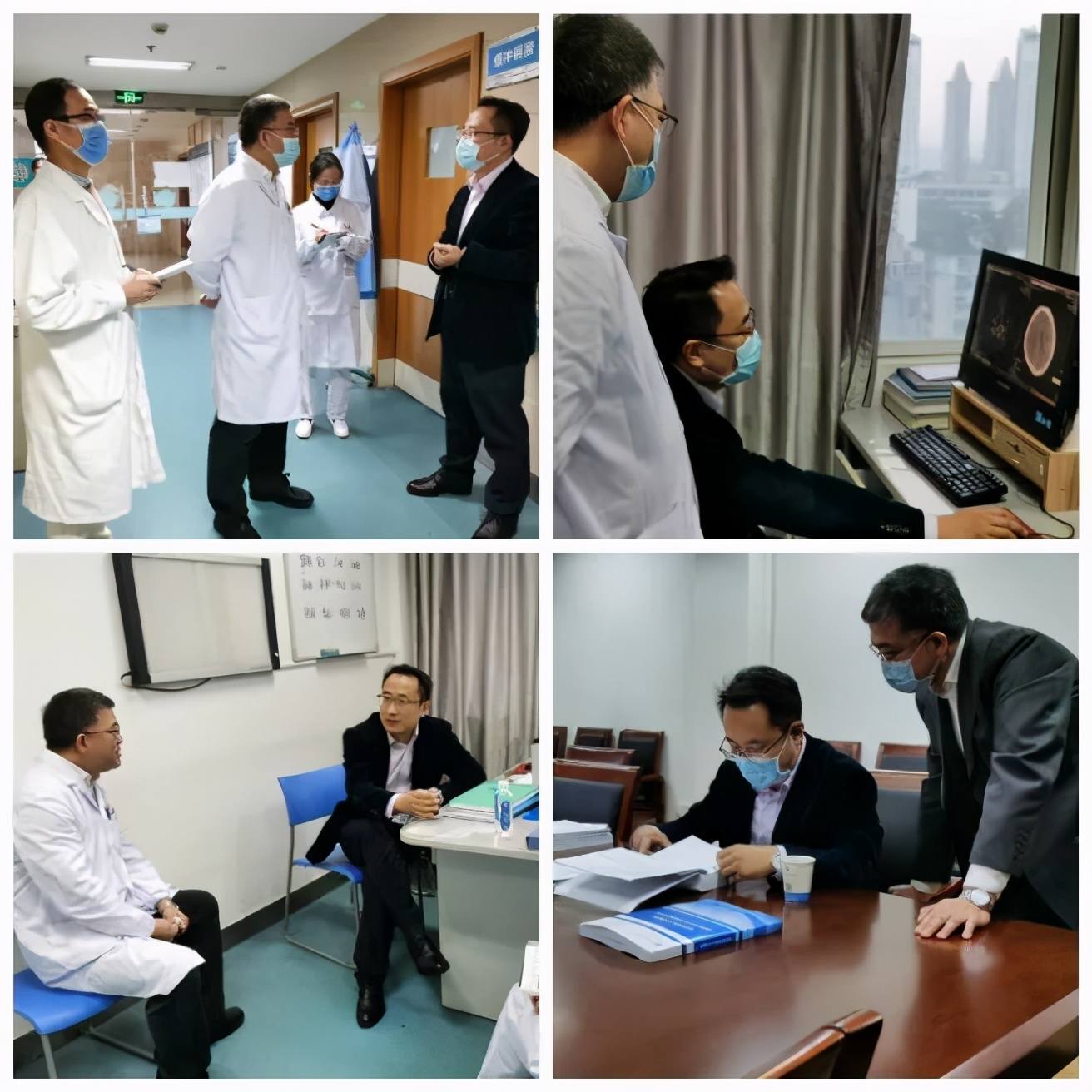 国家卫健委专家莅临宜昌市第二人民医院指导高级卒中中心建设工作