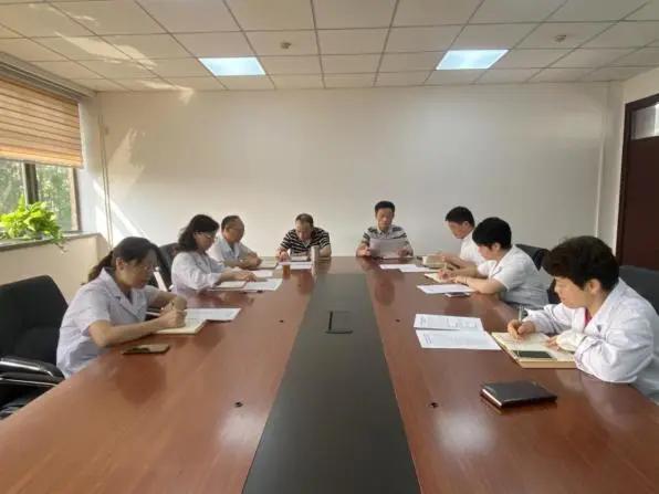 上海市第二康复医院组织学习《习近平谈治国理政》第三卷
