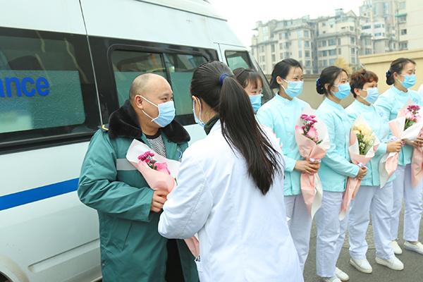 四川省泌尿外科医院首批援郫医疗队平安归来