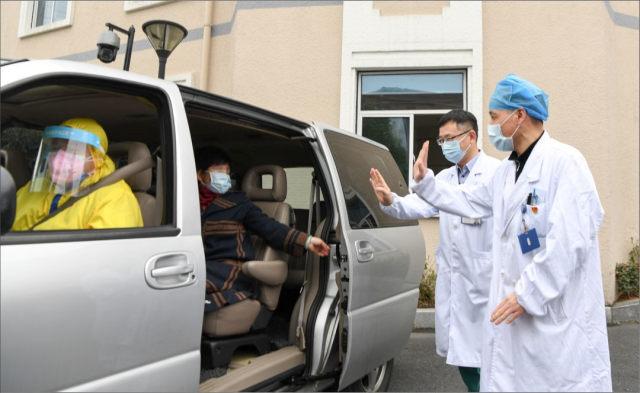 清零!萧山区第一人民医院最后一位新冠肺炎确诊患者治愈出院