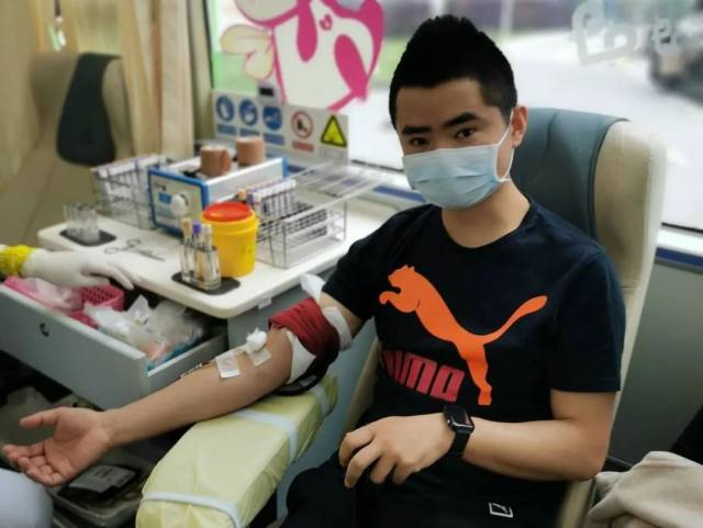 抗疫我们在 献血我们来 上海永慈康复医院