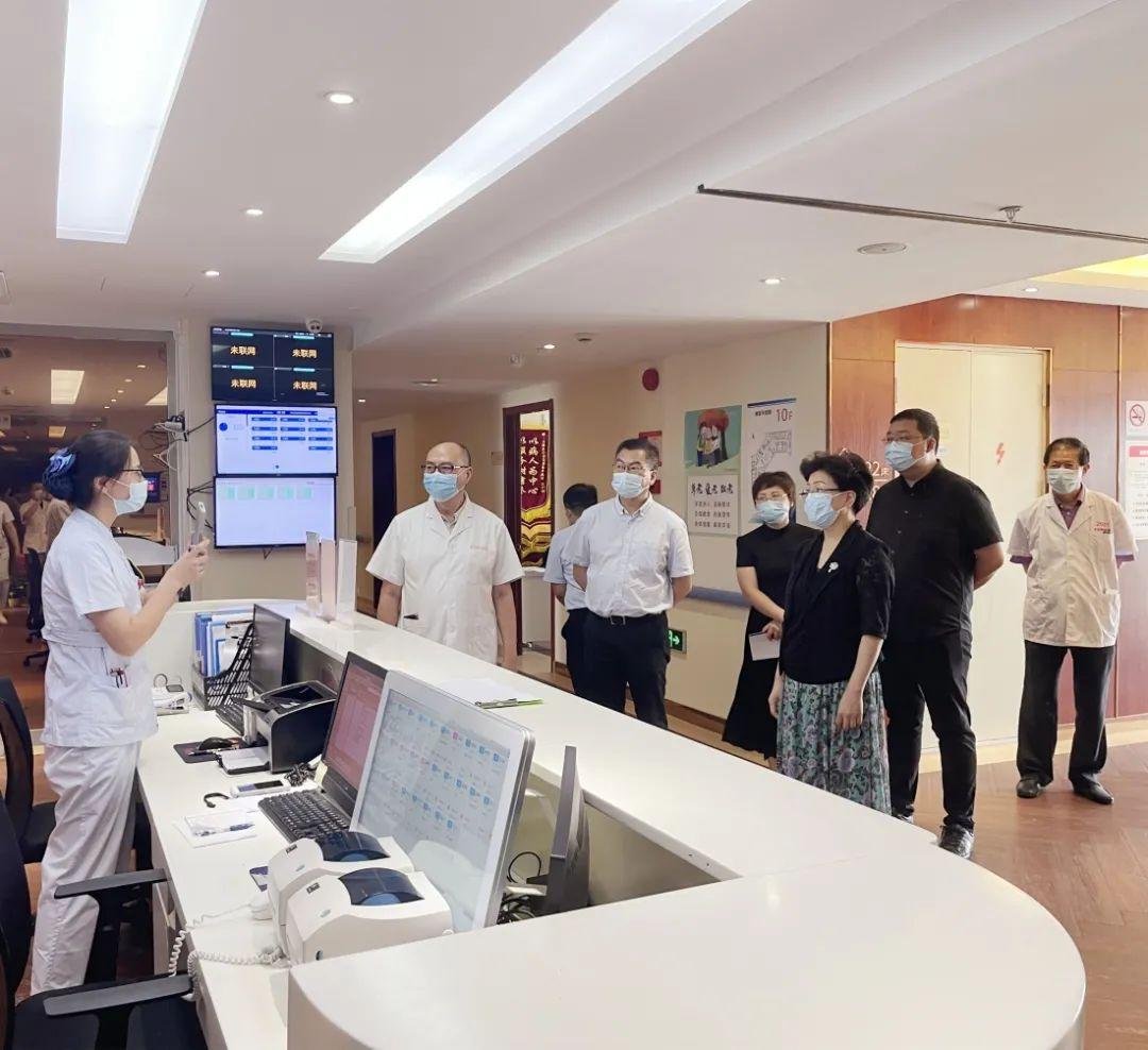 上海市卫健委领导一行莅临上海永慈康复医院调研指导
