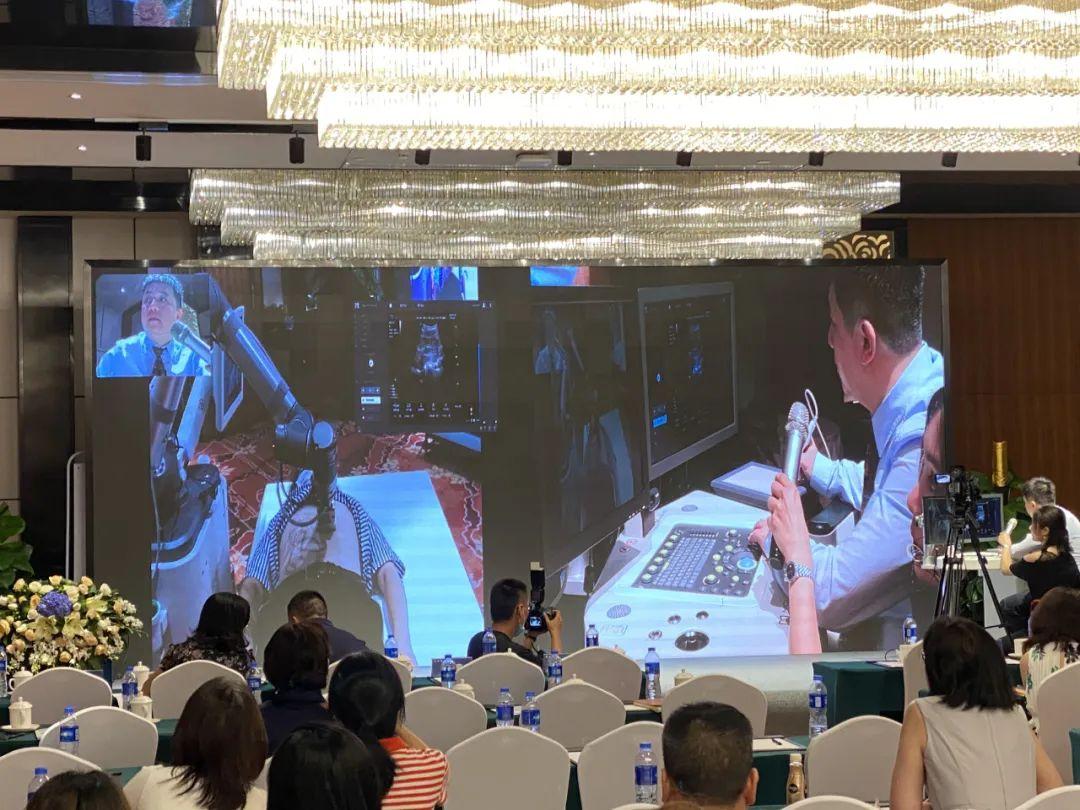 全球首款远程超声机器人亮相深圳 院企携手共促高端医疗产业发展