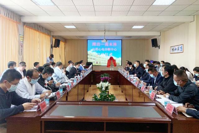 田庆盈市长看望慰问援藏干部并为对口援建南木林县远程心电诊断中心揭牌