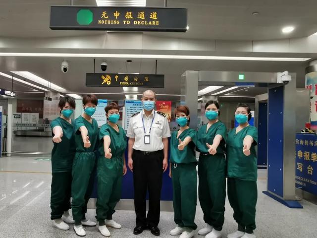 蓟州区人民医院「白衣战士」驰援天津海关守护国门安全