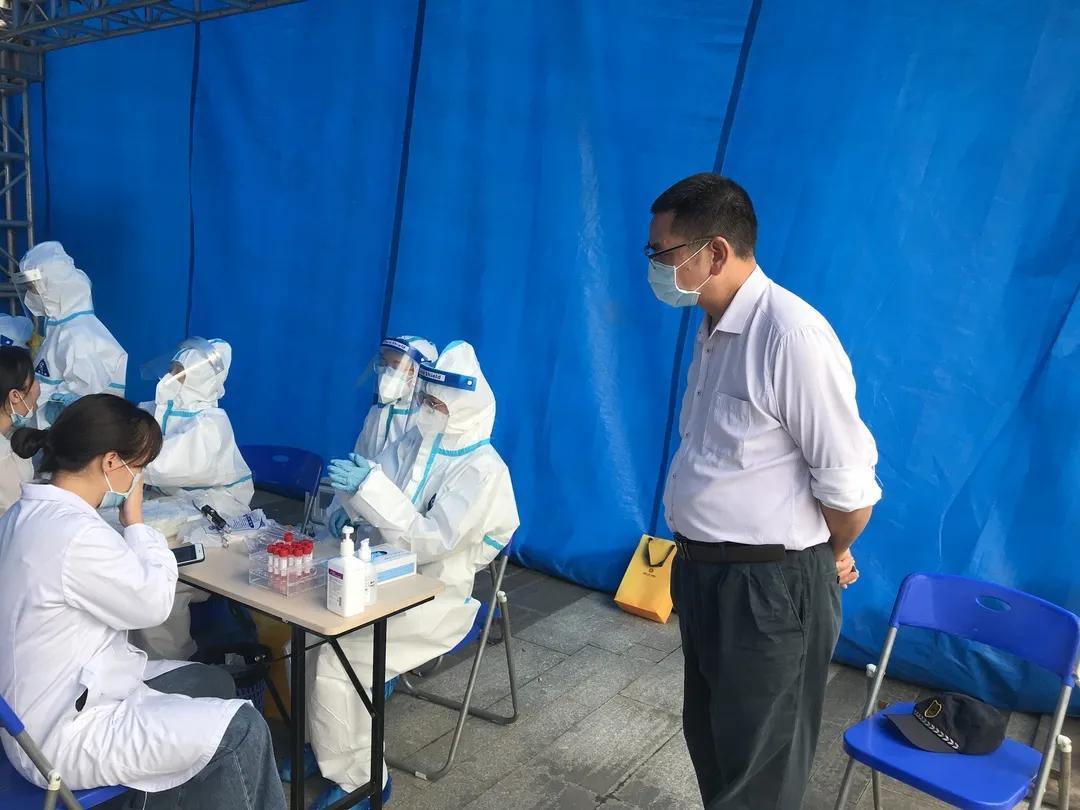 前海人寿广州总医院顺利开展新冠病毒核酸采样和检测实战演练