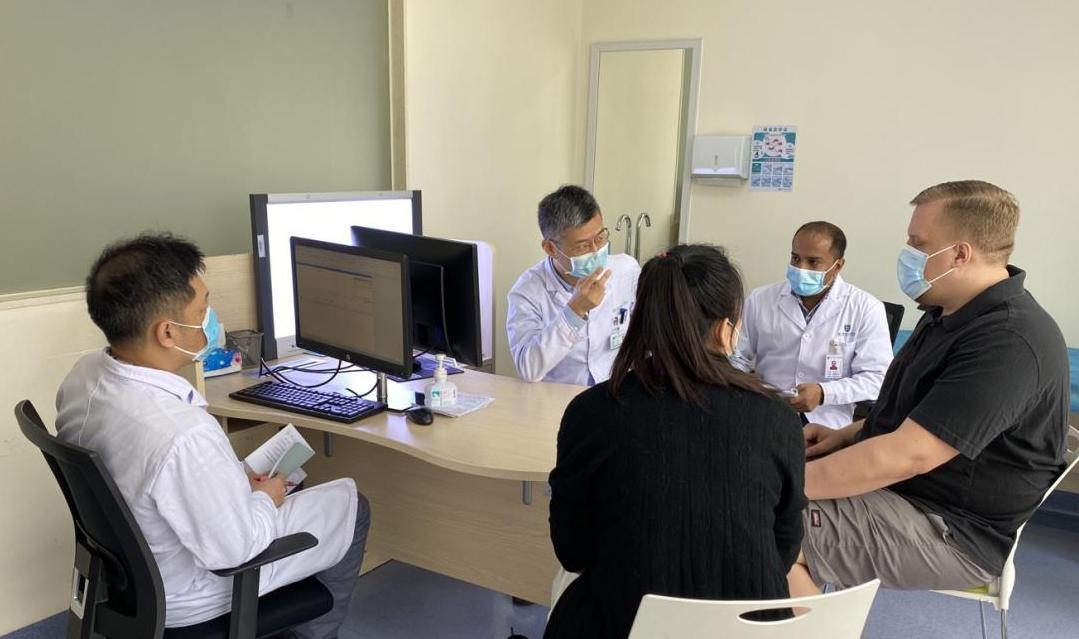 「医院配有国际医疗部」 外籍病人点赞南方科技大学医院服务「国际范」