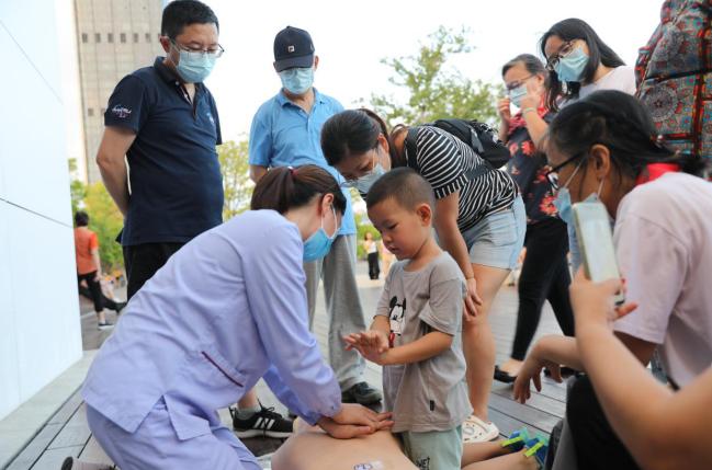 暑假急救培训进公园,南方科技大学医院专家支招如何自救互救