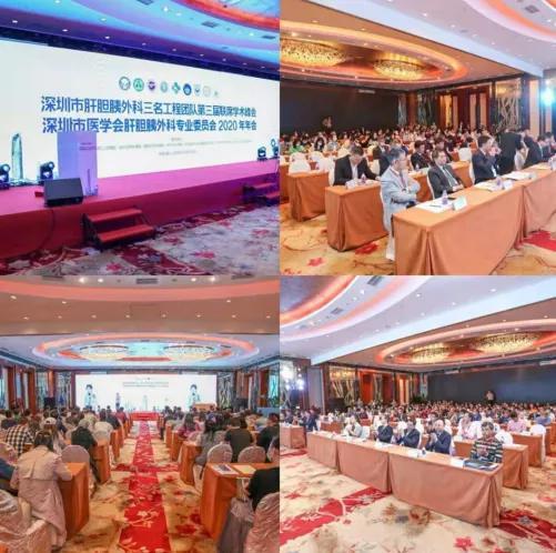 深圳市肝胆胰外科三名工程团队第三届联席学术峰会在深成功举办