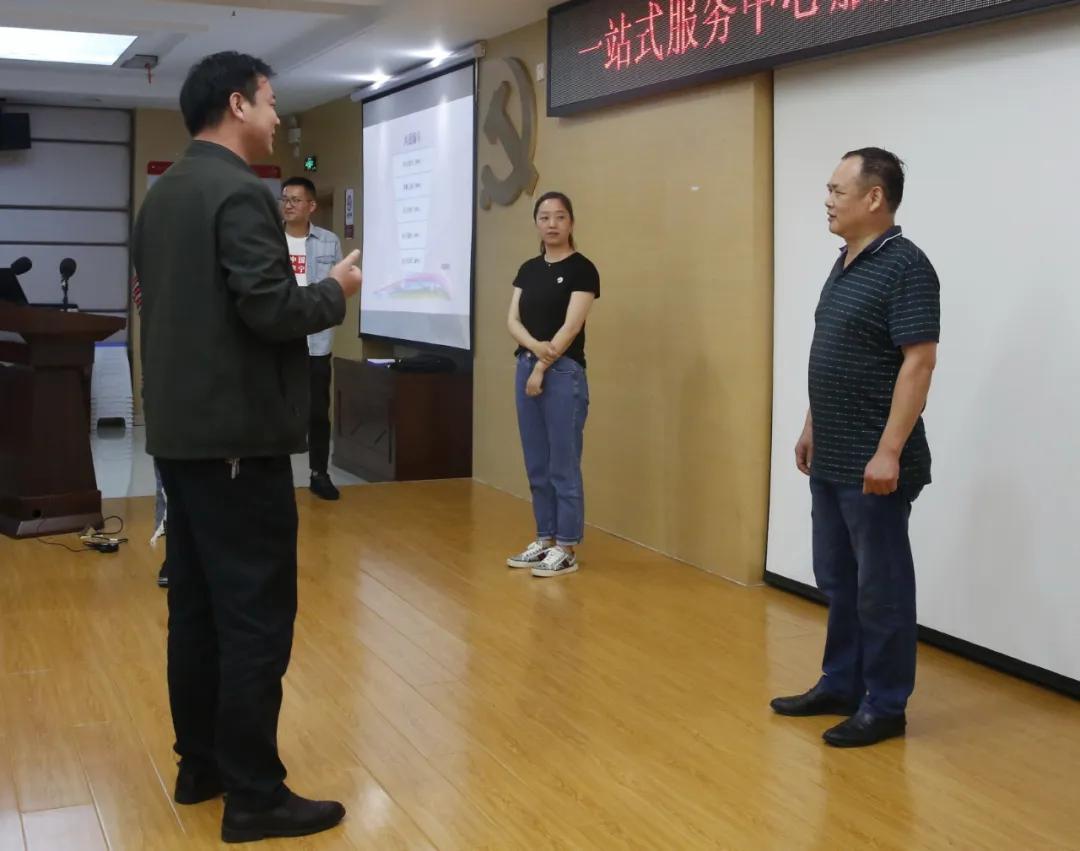 礼仪展示 ing!一站式服务中心服务能力提升培训圆满收官!
