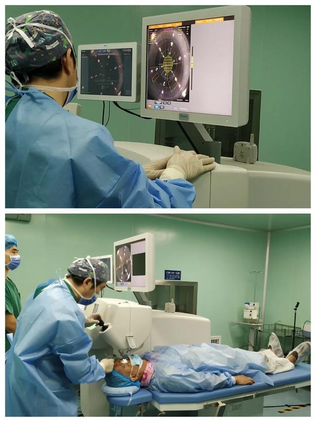 国内首批新一代三焦点人工晶体植入术在沈阳爱尔眼科医院顺利完成