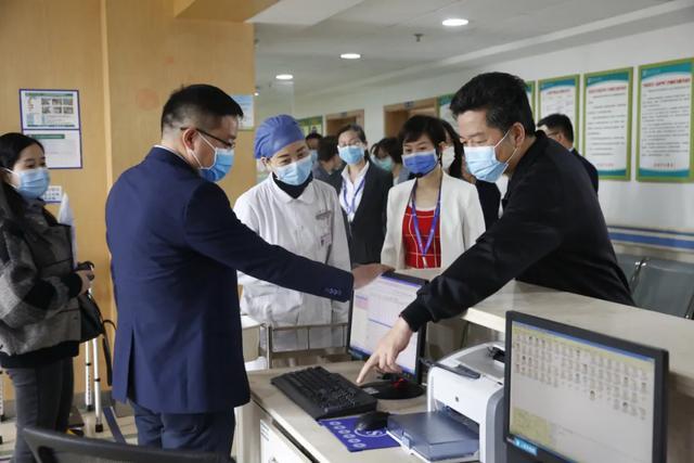 统筹城区医疗卫生事业发展:市政协领导张力一行来院调研