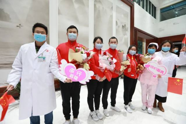 我们回家啦  桂林首批驰援武汉医疗队员凯旋