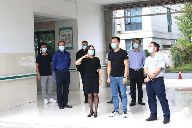 副区长陈琴箫到萧山中医院医共体总院新塘分院进行节前安全生产大检查