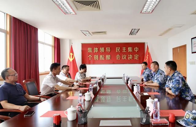 军民共建鱼水情——上海二康「八一」慰问驻地共建部队