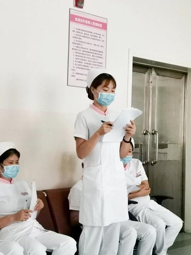 医护管理一体化,肾脏内科血液透析室建立崭新工作体系