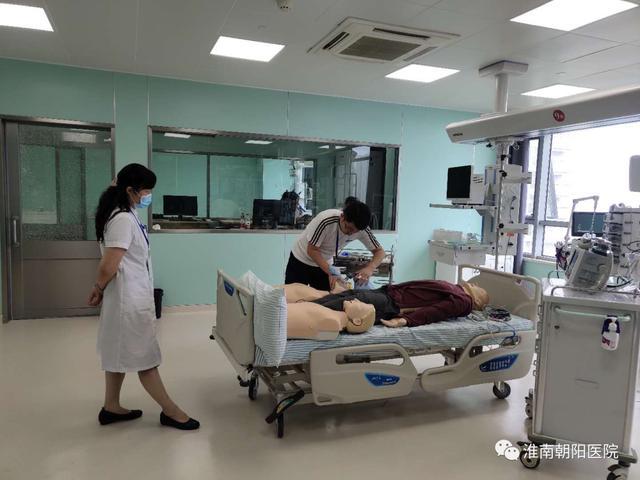 淮南朝阳医院 8 名一线医护人员取得高级心脏生命支持(ACLS)和基础生命支持(BLS)证书