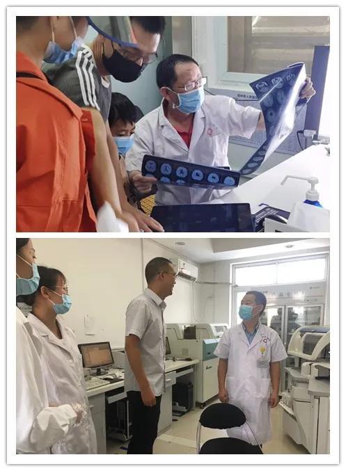 郑州大学第三附属医院与邓州市人民医院举行医联体单位揭牌仪式